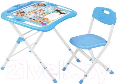 Комплект мебели с детским столом Ника NKP2/1 Азбука в кругу друзей