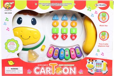 Развивающая игрушка Pir Holding Пианино Коровка / NO-2200