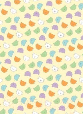 Плед детский ОТК Разноцветные киски 100x150