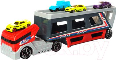 Автовоз игрушечный Haiyuanquan Трейлер P856-A