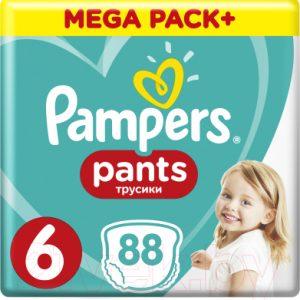 Подгузники-трусики детские Pampers Pants 6 Extra Large