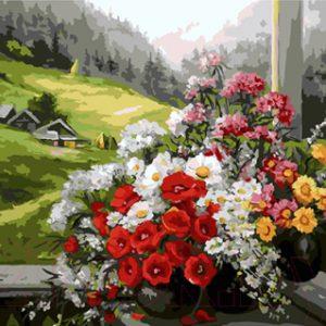 Картина по номерам Picasso Альпийский пейзаж (PC4050206)
