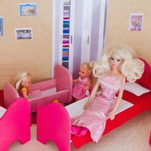 Комплект аксессуаров для кукольного домика Paremo Постельные принадлежности / PDA315-01