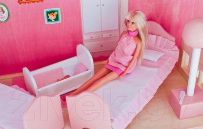 Комплект аксессуаров для кукольного домика Paremo Постельные принадлежности / PDA315