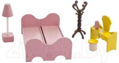 Комплект аксессуаров для кукольного домика Paremo Спальня / PDA417-01