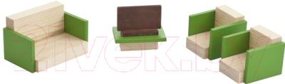 Комплект аксессуаров для кукольного домика Paremo Гостиная / PDA517-03