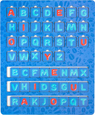 Развивающая игрушка Paremo Английский алфавит / PE720-176