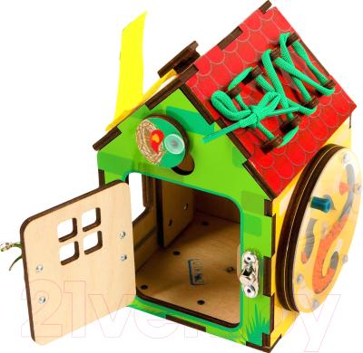 Развивающая игрушка Paremo Бизи-Дом / PE720-201