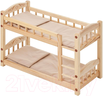 Аксессуар для куклы Paremo Двухъярусная кроватка / PFD116-05