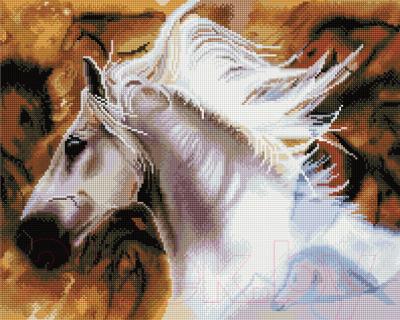 Набор алмазной вышивки Picasso Белый жеребец
