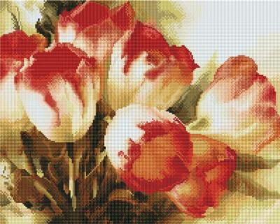 Набор алмазной вышивки Picasso Нежные тюльпаны