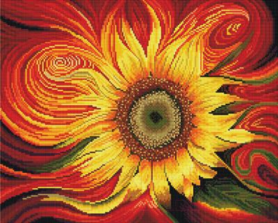 Набор алмазной вышивки Picasso Солнечный цветок