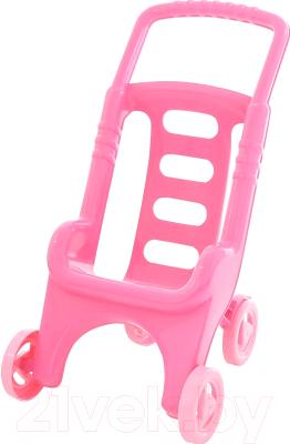 Коляска для куклы Полесье Pink Line 2x1 / 44525
