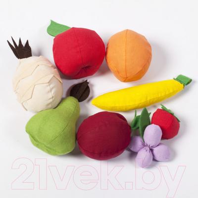 Набор игрушечных продуктов Paremo Фрукты с карточками / PK320-19