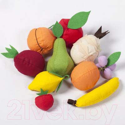 Набор игрушечных продуктов Paremo Фрукты с карточками / PK320-21