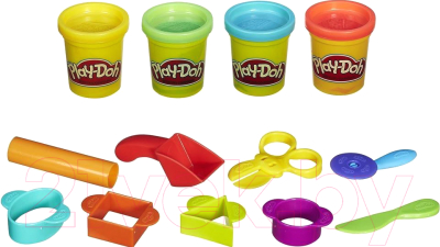 Набор для лепки Hasbro Play-Doh Базовый / B1169