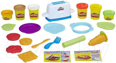 Набор для лепки Hasbro Play-Doh Тостер / E0039