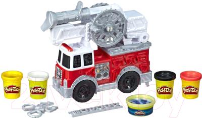 Набор для лепки Hasbro Play-Doh Пожарная Машина / E6103
