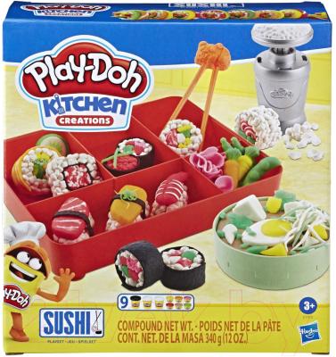 Набор для лепки Hasbro Play-Doh Суши / E7915