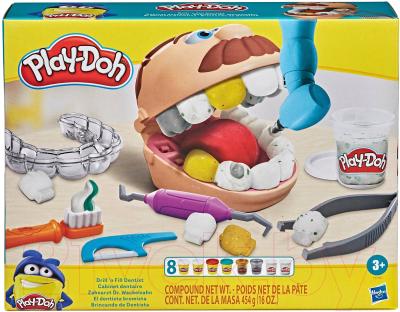 Набор для лепки Hasbro Play-Doh Зубастик с золотыми зубами / F12595L0