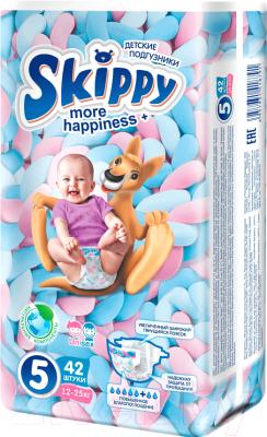 Подгузники детские Skippy More Happiness Plus 5