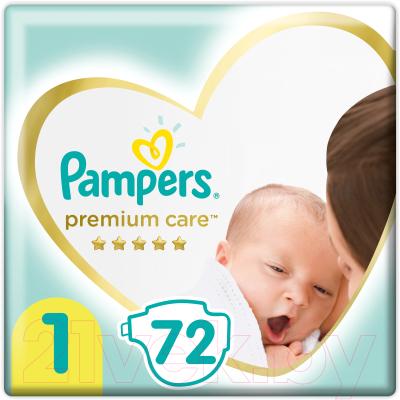 Подгузники детские Pampers Premium Care 1 Newborn