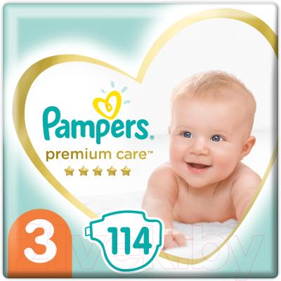 Подгузники детские Pampers Premium Care 3 Midi