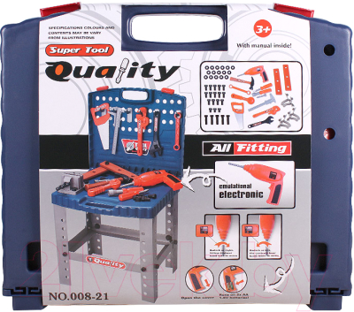 Верстак-стол игрушечный Darvish Quality Super Tool / DV-T-2353