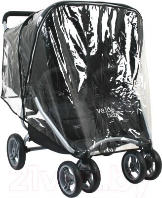 Дождевик для коляски Valco Baby Raincover Two Hoods / Snap Duo