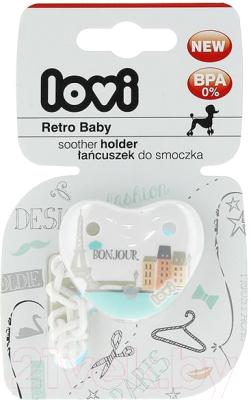 Держатель для пустышки Lovi Retro Baby / 10/881