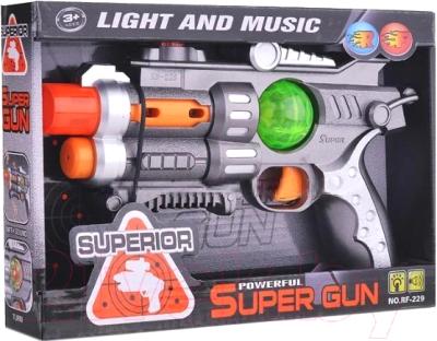 Бластер игрушечный Play Smart Пистолет / RF-229