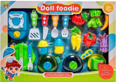 Набор игрушечной посуды Nimao Юный повар / RM190B-8