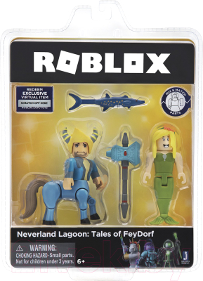 Игровой набор Roblox Лагуна Неверленд: сказки Фейдорфа / ROG0141