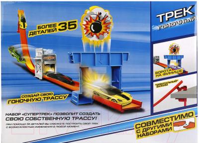 Автотрек гоночный Технопарк Мини Трек с машинкой / S2693-R