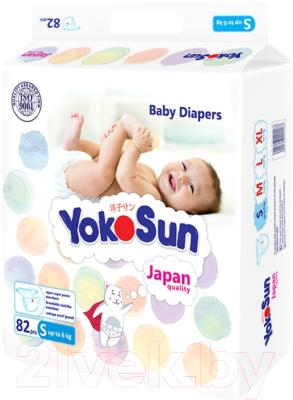 Подгузники детские YokoSun На липучках размер S до 6кг