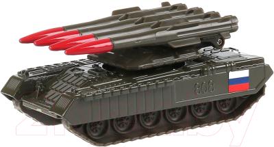 Танк игрушечный Технопарк С ракетной установкой / SB-16-19-BUK-G-WB