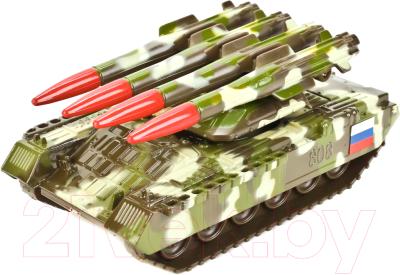 Танк игрушечный Технопарк С ракетной установкой / SB-16-19-BUK-M-WB