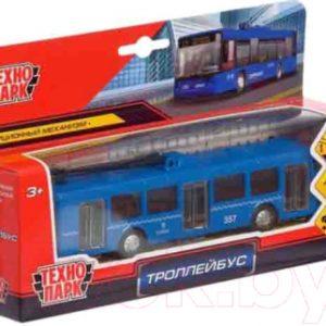 Троллейбус игрушечный Технопарк SB-16-65-BL-WB