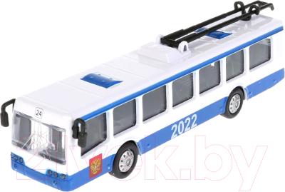 Троллейбус игрушечный Технопарк SB-16-65WB