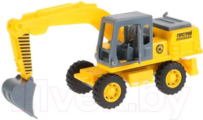 Экскаватор игрушечный Технопарк SB-18-08-A-WB