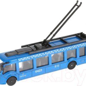 Троллейбус игрушечный Технопарк SB-18-10WB