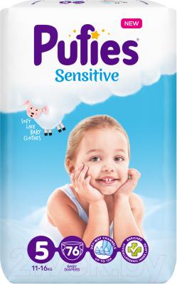 Подгузники детские Pufies Sensitive Junior 11-16кг