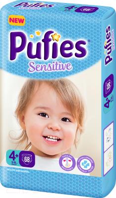 Подгузники детские Pufies Sensitive Maxi 4+