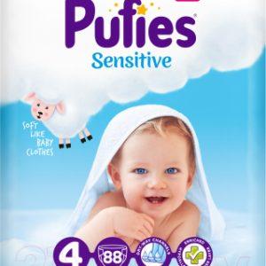 Подгузники детские Pufies Sensitive Maxi 9-14кг