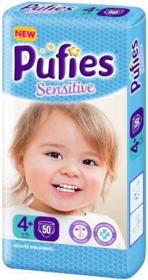 Подгузники детские Pufies Sensitive Maxi+ 9-16кг