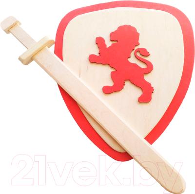 Набор игрушечного оружия Мастер Вуд Щит и меч SHM1