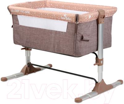 Детская кроватка Lorelli Sleep N Care Beige Elephant / 10080431903