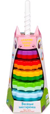 Развивающая игрушка Fancy Пирамидка. Веселые шестеренки / SPIN01