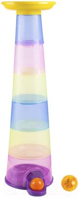 Развивающая игрушка Fancy Пирамидка. Увлекательная башня-горка / SPIN02