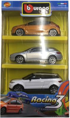 Набор игрушечных автомобилей Bburago Street Fire / 18-30073